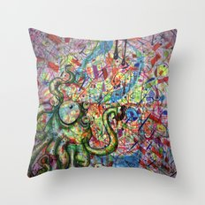 What a Mess! Throw Pillow