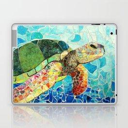Swimming Toward The Light Laptop & iPad Skin