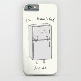 I'm Beautiful Inside iPhone Case