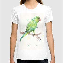Rose Ringed Parakeet T-shirt