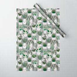 Face Vase Wrapping Paper
