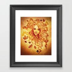 Autumn Bliss Framed Art Print