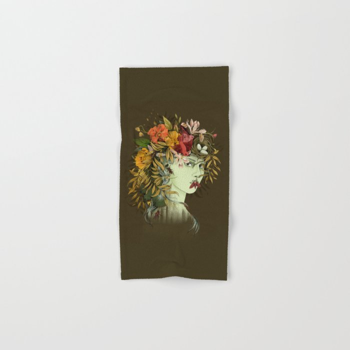 Persephone, goddess of Spring Hand & Bath Towel