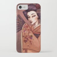 mother iPhone & iPod Cases featuring Mother by Christine Alcouffe