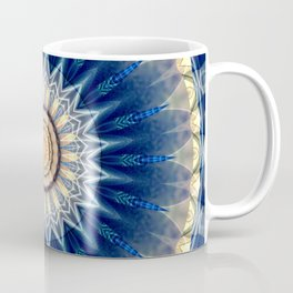 Mandala blue created by Tutti Coffee Mug