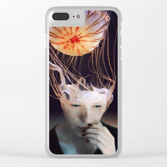 Scyphozoa Clear iPhone Case