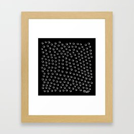 disturbing images | invert Framed Art Print