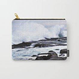 Ferocious Ocean -- Peggy's Cove, Nova Scotia  Carry-All Pouch