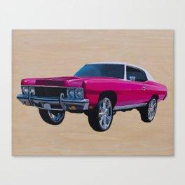 Chevrolet Caprice Donk Canvas Print