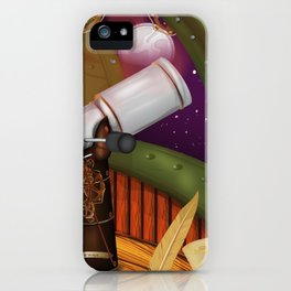 Telescope Observatory  iPhone Case