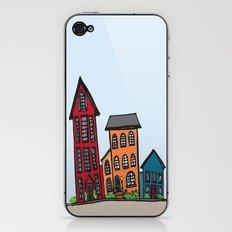 TownHouses iPhone & iPod Skin