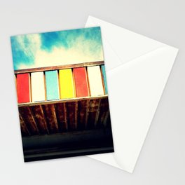 Colorful Awning Stationery Cards