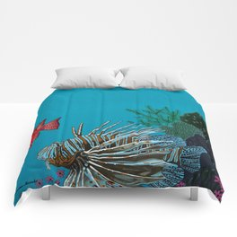 Scorpion & Bigeye fishes Comforters