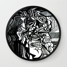 Basically Picasso Wall Clock