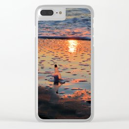 Morning Message Clear iPhone Case