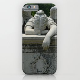 Weeping Angel iPhone Case