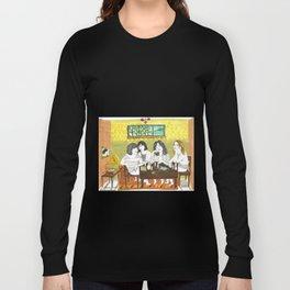 Björk and Sleater Kinney Long Sleeve T-shirt