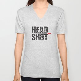 Headshot Unisex V-Neck