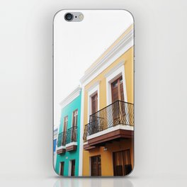 OLD SAN JUAN iPhone Skin