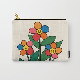 The True Reality / Flowers Carry-All Pouch