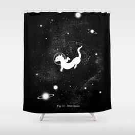 Otter Space Shower Curtain