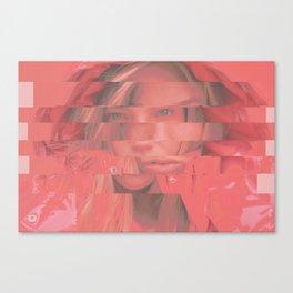 LineGirl Canvas Print