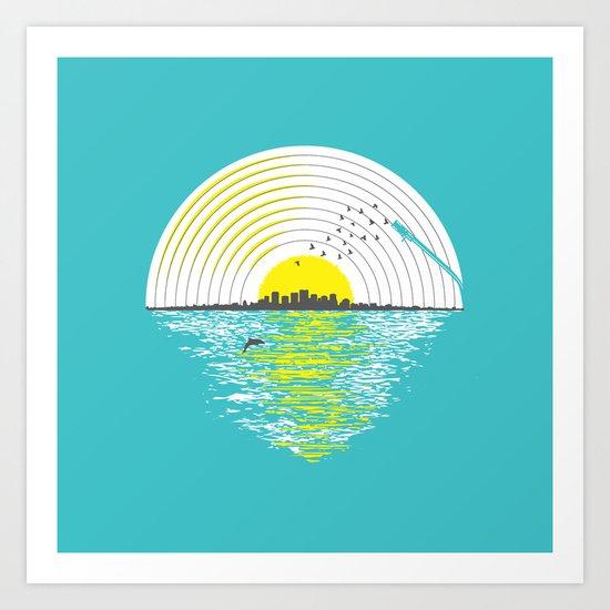 Morning Sounds Art Print