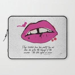Magic tumbled pretty lips Laptop Sleeve