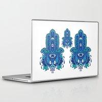 hamsa Laptop & iPad Skins featuring Hamsa by Miss ChatZ