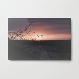 Sunrise in the cove Metal Print