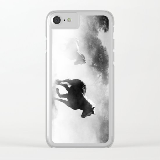 Spirit #society6 #cadineradesign #prints Clear iPhone Case