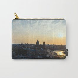 Amsterdam at Sunset Carry-All Pouch