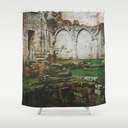 Culross Abbey - Scotland Shower Curtain