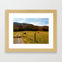Tennessee Farm Framed Art Print