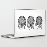 dream catcher Laptop & iPad Skins featuring Dream Catcher by Astrablink7