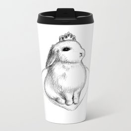 Bunny Princess #2 Metal Travel Mug
