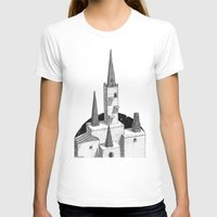 hyrule T-shirts featuring Hyrule Castle  by Cam Floyd Illustration