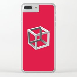 Impossible Cube Clear iPhone Case