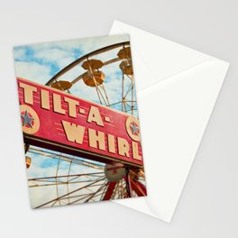 tilt-a-whirl Stationery Cards