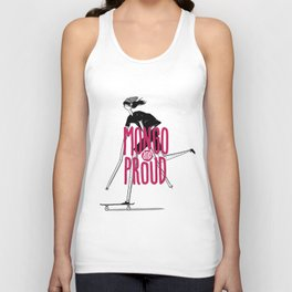 Mongo & Proud Unisex Tank Top