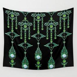 CASTELLINA JEWELS: BLUE GREEN DREAM Wall Tapestry