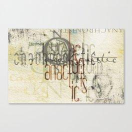 anachronistic Canvas Print