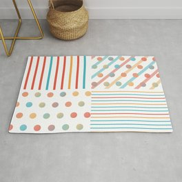 Simple saturated pattern Rug