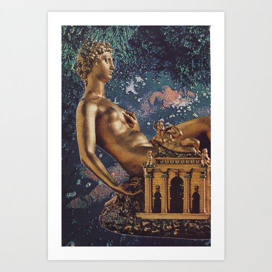 Collage #45 Art Print