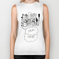 the fault Biker Tanks featuring The fault in our stars by Madwolf