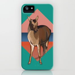 Miyajima Deer iPhone Case