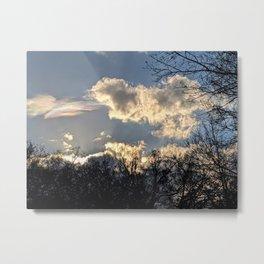 Surreal Clouds Metal Print