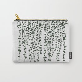 Pearl Plant, Botanical art, Carry-All Pouch