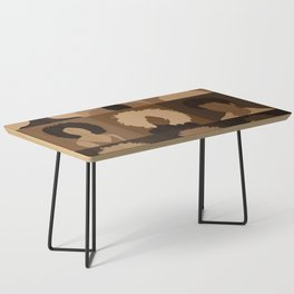 FOR BROWN GIRLS COLLECTION COLLAGE Coffee Table