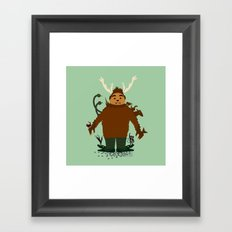 Hello Herman  Framed Art Print